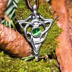 Göttin mit Keltischer Knoten