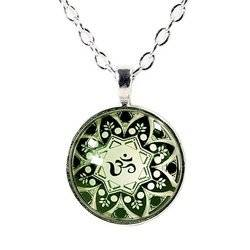 Halskette Ohm Mandala