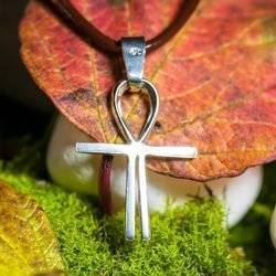 Kreuz des Atlantis 2,5cm  Schutz Talisman aus 925er Silber