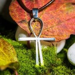 Kreuz des Atlantis 3,4cm  Schutz Talisman aus 925er Silber