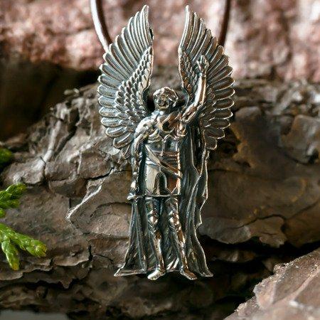 Erzengel Michael Talisman aus Silber 925