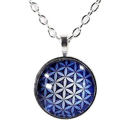 Halskette Blume des Lebens - Mandala