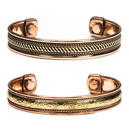Magnetisches Armband Aus Kupfer (Set: 2 Stück)