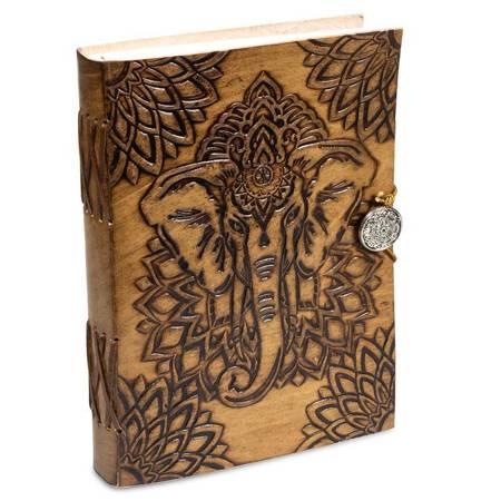 Notizbuch mit Elefant