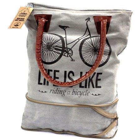 Vintage Handtasche- Fahrrad (Erweiterbar)